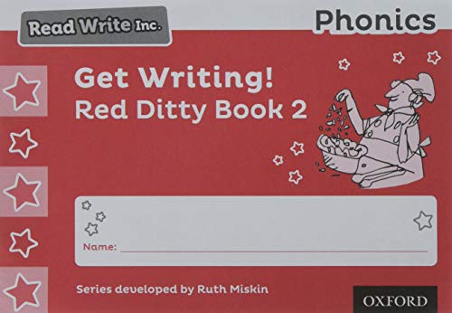 Read Write Inc. Phonics: Get Writing! Red Ditty Book 2 Pack of 10