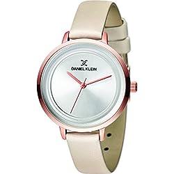 Daniel Klein Analog Silver Dial Women's Watch-DK11374-6