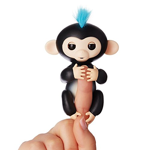 Fingerlings ouistiti noir bébé singe interactif de 12cm 0771171137016