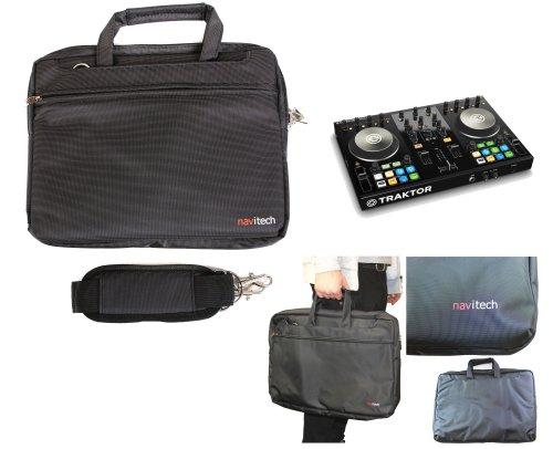 Navitech schwarzes DJ Controller Case / Tasche für das Native Instruments Traktor Kontrol S2 MK2
