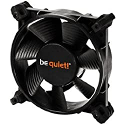 be quiet! SILENT WINGS 2 PWM Ventola, 80mm, Nero