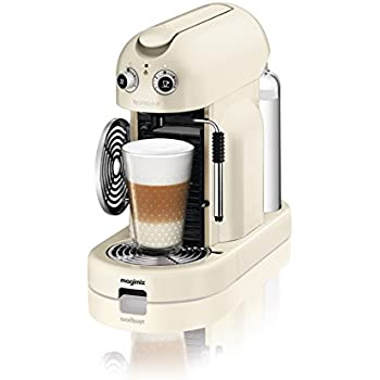 nespresso maestria coffee machine cream by magimix
