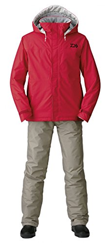 DAIWA RAINMAX® Winteranzug Rot Gr.XL Thermo Suit