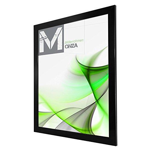 Cadre photo MONZA 60 x 60 cm Noir (ultra-brillant)