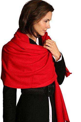 Parvenu Pashmina-Pashmina-Femme Rouge
