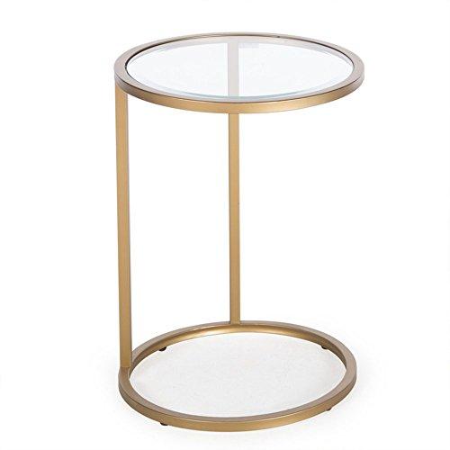 Lyxpuzi semplice e moderno divano tavolino tavolino pigro tavolo da caffè sfoderabile angolo laterale portatile
