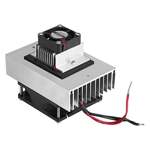 DC 12V Refrigerador Termoeléctrico Sistema de Refrigeración Disipador de Calor Módulo de Conducción Frigorífico Semiconductor Sistema de Refrigeración Kit de Bricolaje Para Mini Aire Acondicionado