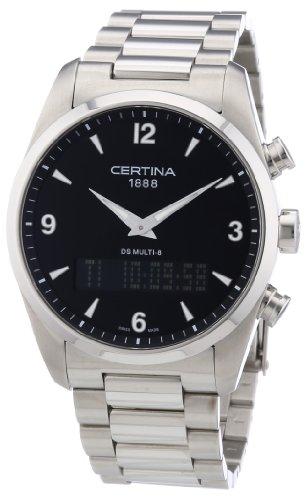 Certina Herren-Armbanduhr XL Analog - Digital Quarz Edelstahl C020.419.11.057.00