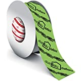 doitBau deflexx Profi dampscherm tape groen 50mm x 25m - hoogwaardige kleefband voor dampschermfolie dampscherm, universele t