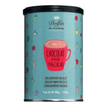 Dolfin | Trinkschokolade dunkel 55%