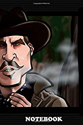 """Notebook: Your Huckleberry , Journal for Writing, College Ruled Size 6"""" x 9"""", 110 Pages"""