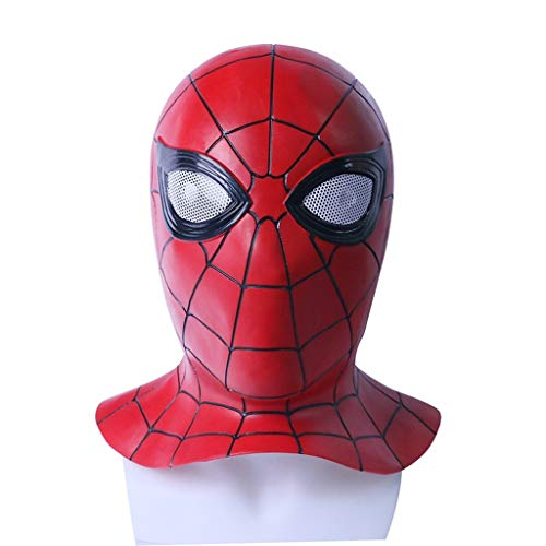 Unbekannt Mask- Spiderman Maske Held Rückkehr Helm Halloween Thema Party Cosplay Requisiten (Farbe : ()