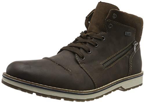 Rieker Herren Stiefel 39231, Männer Winterstiefel,riekerTEX, Winter-Boots schnürstiefel warm wasserfest tex Herren Men,Moro,45 EU / 10.5 UK