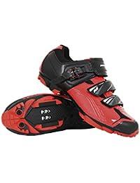 Massi Zapatillas MTB AKKRON Dual 2.0 Red T.43, Ciclismo de montaña Unisex Adulto