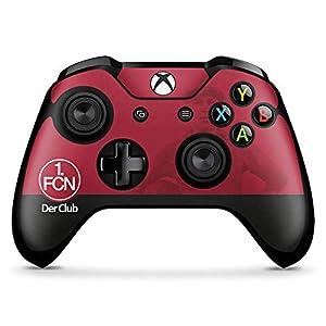 DeinDesign Skin kompatibel mit Microsoft Xbox One X Controller Aufkleber Folie Sticker 1. FC Nürnberg Esport FCN