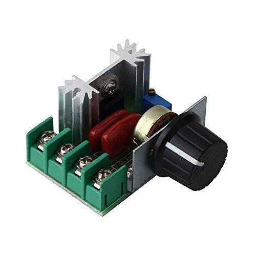 PWM AC Motor SCR Einstellbare Spannung Regler Drehzahlregelung Controller Dimmer Dimmer Thermostat Elektronische Modul Bord 220 V 2000 Watt (Ac-motor)