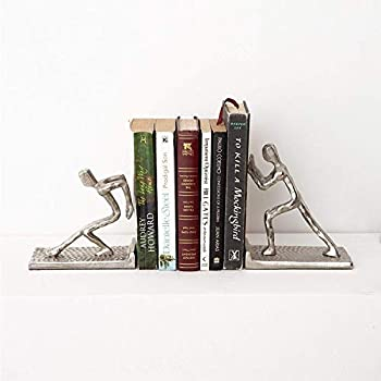 Casa Decor Human Unique Bookends for Office Decor, Book Shelf, Living Room, Home Décor
