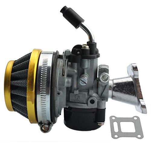 GOOFIT Tuning Vergaser mit Luftfilter für 2 Stroke 37cc 39cc Wassergekühlt MTA4 Pocketbike