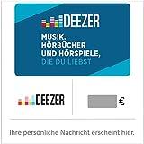 Deezer Geschenkkarte - für Deutschland - per E-Mail