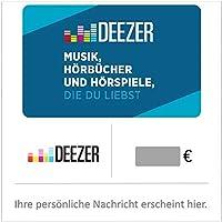 Deezer Geschenkkarte (DE) - Gutschein per E-Mail