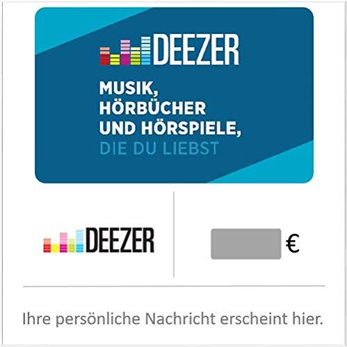 Deezer Geschenkkarte (DE) Config - Gutschein per E-Mail