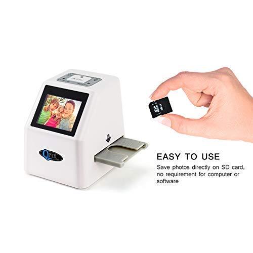 ZUZU Fotoscanner Hohe Auflösung 22 MP 110