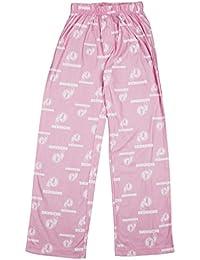 NFL - Pantalón de pijama - para niño Rosa rosa Talla:XL