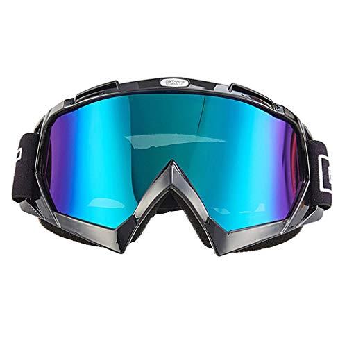 Luckiests Casco de Motocross ATV Gafas MTB Bici de la Suciedad de los anteojos de la Motocicleta Campo a través a Prueba de Viento del esquí Patinaje Glasses