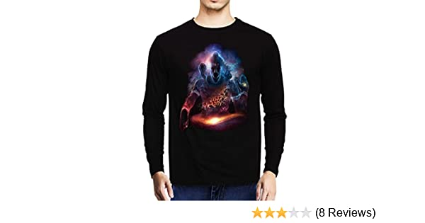 423d4f73881599 Baklol Men's Round Neck Printed Full Sleeves Printed T-Shirt(Lord Shiva),  Black: Amazon.in: Clothing & Accessories