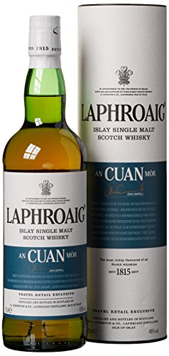 Laphroaig An Cuan Mòr mit Geschenkverpackung  Whisky (1 x 0.7 l)