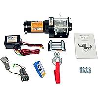 Cabrestante Electrico Winche 12v 1360Kg 3000Lbs Cabestrante Con Cable Acero