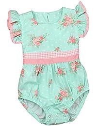 Amlaiworld Mono Bebé, Bebé Infantil recién Nacido Estampado Floral SleevelessJumpsuit Ropa ...