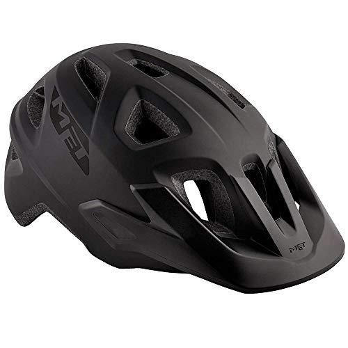 MET Echo Helm Black Kopfumfang S/M   52-57cm 2019 Fahrradhelm