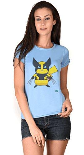 Pickachoo Blue Girls Tshirt