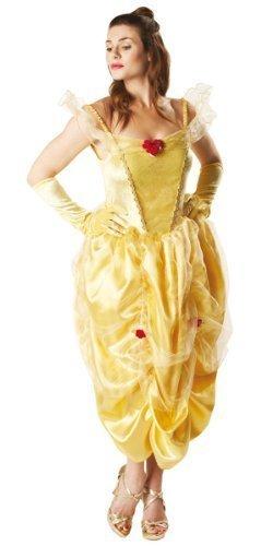 Donna Disney La Bella e la Bestia Belle Principessa Costume 8-18 Yellow 38-39