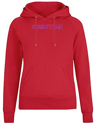 Gigabyte Me Jacket with Hoodie for Women - 100% Soft Cotton - High Quality DTG Printing - Custom Printed Womens Clothing