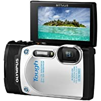 Olympus Stylus Tough TG-850 Digital Compact Camera - White