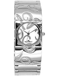 Reloj Yonger pour elle mujer nacarado blanco decorado + brillantes–DMC 1448/02
