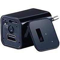 carsge Adaptador Espía Conector USB FullHD Detección de Movimiento Monitor Mini Vigilancia