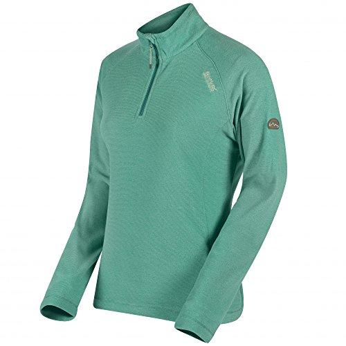 Regatta Womens/Ladies Montes Half Zip Lightweight Microfleece Top (Microfleece Pullover Half Zip)
