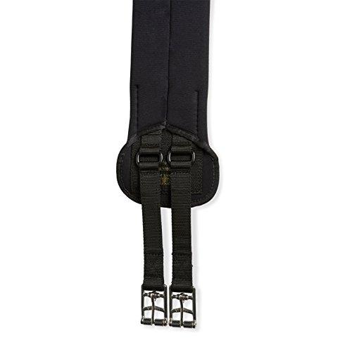 Kieffer Sattelgurt -Neoprenline mit beweglichen Strippen-VS/Springen 115cm