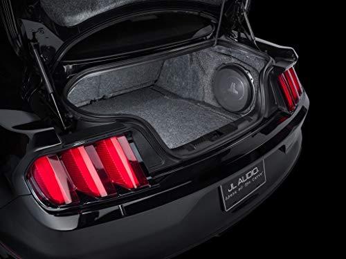 JL Audio SB-F-MUSCPE/12TW3 - Ford Mustang ab 2015 30cm Gehäuse Subwoofer mit 30 cm 12TW3-D4 mit Abdeckgitter