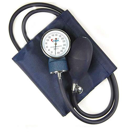 Valuemed Blutdruckmessgerät + Sprague Rappaport Stethoskop im Paket medizinische Profis Aneroid Blutdruckmessgerät Pro CE NHS-Einheit + Stethoskop im Set -