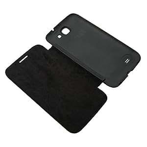 Acm Flip Case For Karbonn Smart A25 Mobile Front & Back Flap Folio Cover-Black