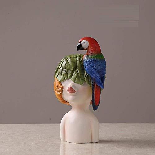 WJSW Ornamente Statuen Skulpturen Kleine Ornamente, Heimdekorationen, Weinschränke, Dekoration, Harzdekoration