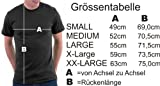 Million Nation Alles unter 500g ist Aufschnitt T-shirt, Größe XXL, Navy