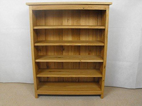 Somerset Cd (Really Good Somerset Range Eiche CD DVD Einheit oder Bücherregal ideal für Wohnzimmer, Arbeitszimmer oder Schlafzimmer mit 4Verstellbaren Einlegeböden)