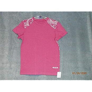 T-Shirt Halbarm Mandala Rosa