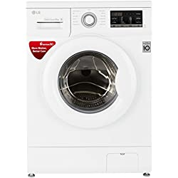 LG 6 kg Fully-Automatic Front Loading Washing Machine (FH0G7NDNL02, Blue White)