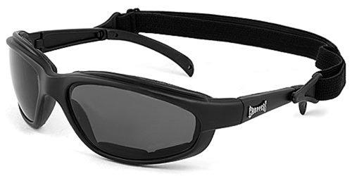 Choppers Maske und Sonnenbrillen - Multisport - Ski - Snowboard - MTB - Running - Segeln - Moto - Biathlon / Mod. Stunt Schwarz
